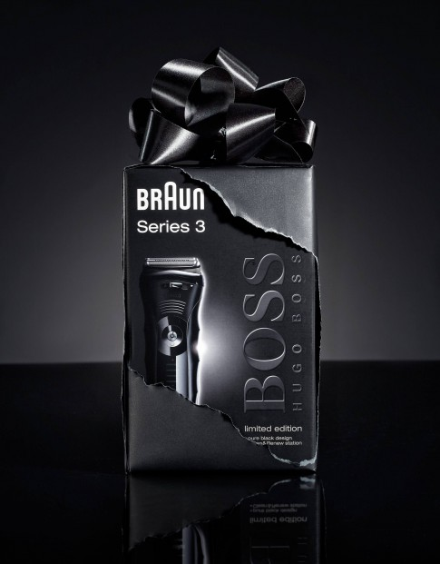 Stillife - Braun-Boss_Rasierer Series3_Giftbox