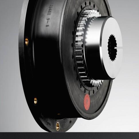 Industriefotografie---Flanschkupplung-KTR-BOWEX-HE