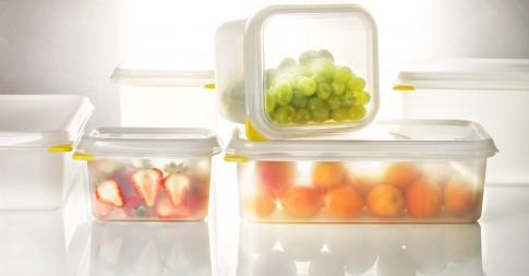 Home/Living/Dekoration - Frischhalte-Vorratsdosen durchsichtig mit Obst
