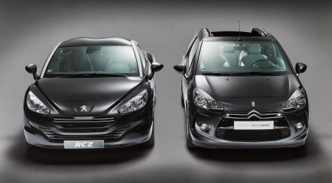 Transportation - Schwarzer Peugeot RCZ + Citroen D53 Cabrio_Studio39 Duesseldorf
