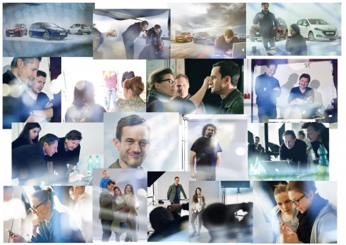 Making Of - Shoot Peugeot Car Range und People