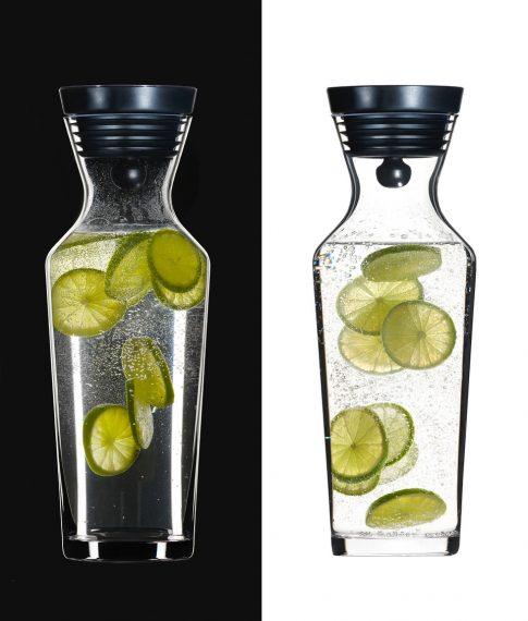 Home/Living   -   Wasserkaraffe mit Lemon